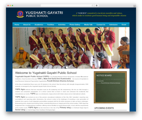 News Mix Light WordPress theme - yugshaktigayatripublicschool.com