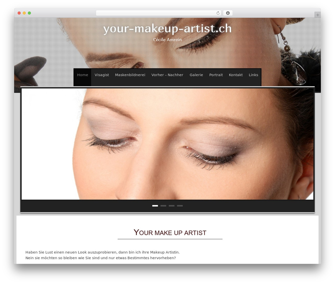 WordPress Website Template Sixteen Point