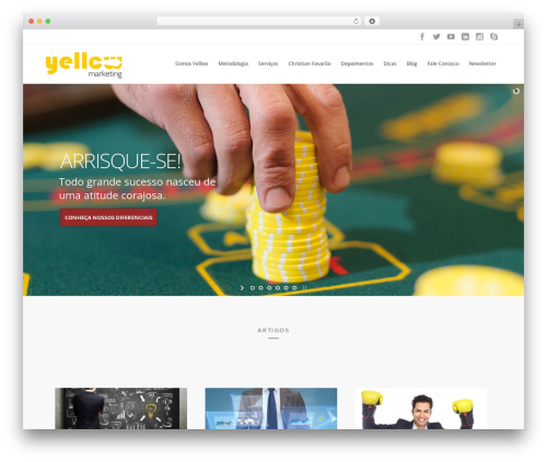 WP theme Brazil - yellowmarketing.com.br