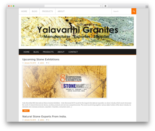 Best WordPress theme Koenda - yalavarthigroup.com