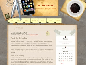 Desk Mess Mirrored WordPress shopping theme