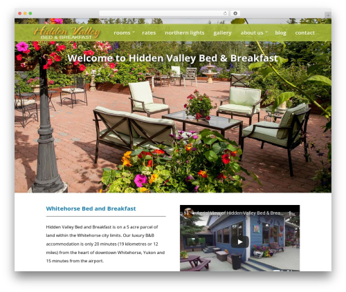 Divi WordPress theme design - yukonbedandbreakfast.com