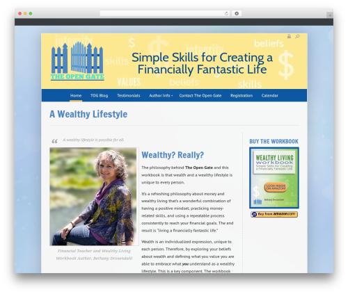 Enfinity by Pixedelic WordPress theme - youropengate.com
