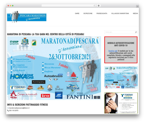 GalaNight WordPress theme download - maratonadipescara.it