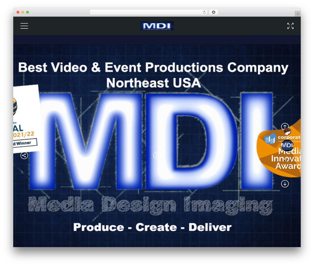 GOODWIN company WordPress theme - mdifilm.com