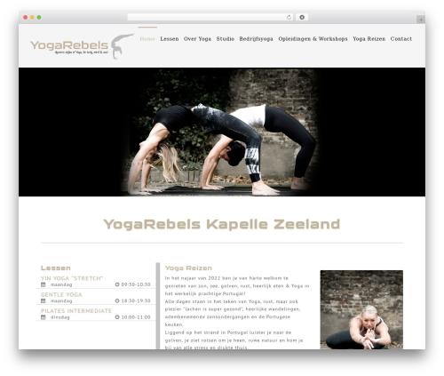 NOO Yogi WP theme - yogarebels.nl