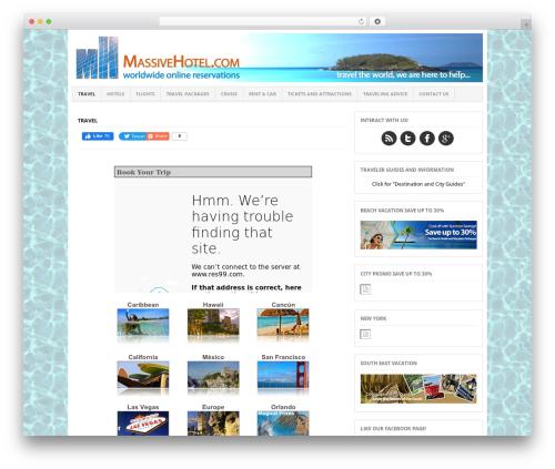 Project AR2 premium WordPress theme - massivehotel.com