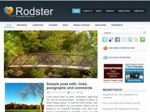 Rodster WordPress gaming theme