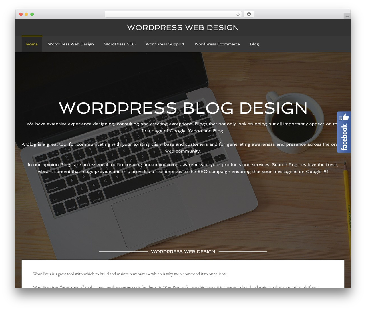 Agency Pro Theme Wordpress Template By Studiopress Wordpress Web Design Co