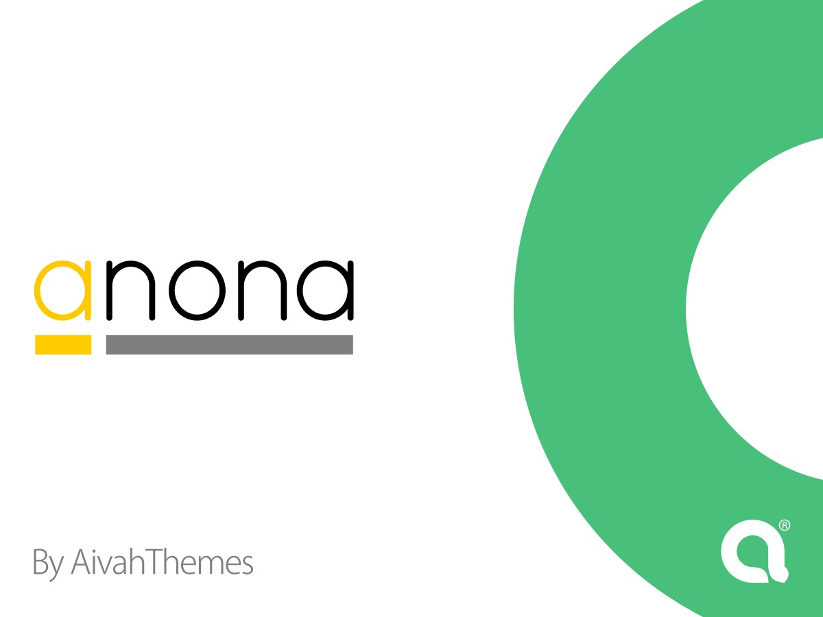 Anona theme WordPress