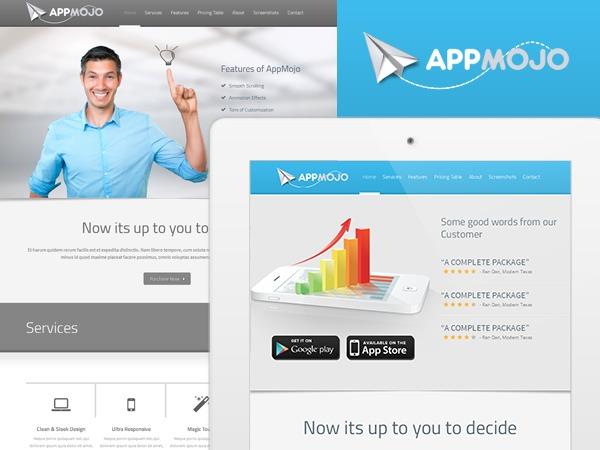 AppMojo template WordPress