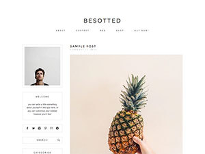 besotted WP theme