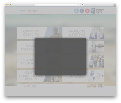 Best WordPress template For All - westernformsapp.com