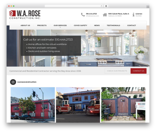 Best WordPress theme BuildPress WP Theme - warose.com