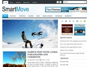 Best WordPress theme SmartMove