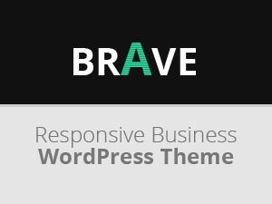 Brave Responsive Business WordPress Theme WordPress template for business