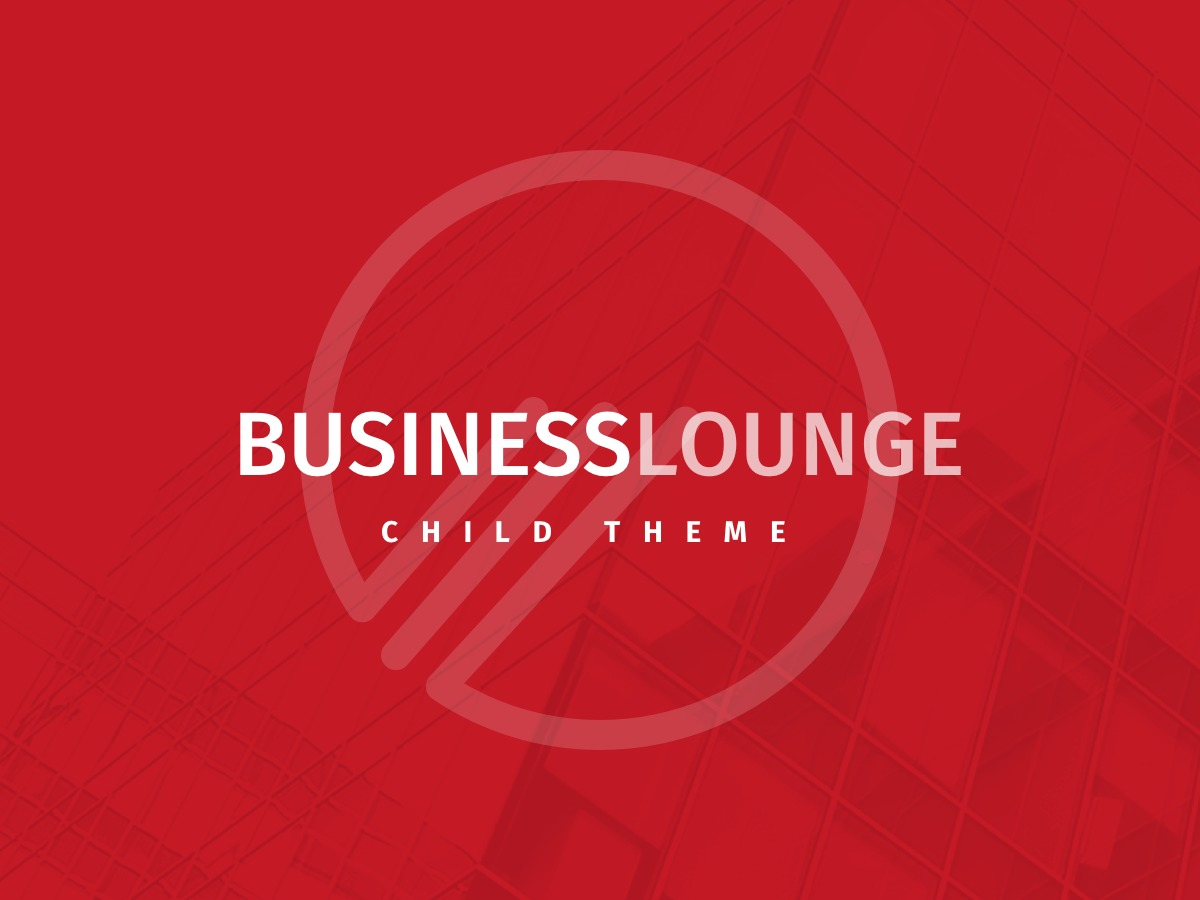BusinessLounge - Child Theme WordPress template for business