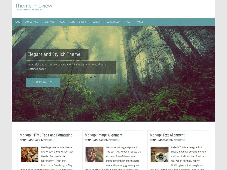 Counsel free website theme
