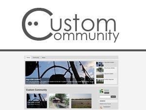 Custom Community WordPress magazine theme