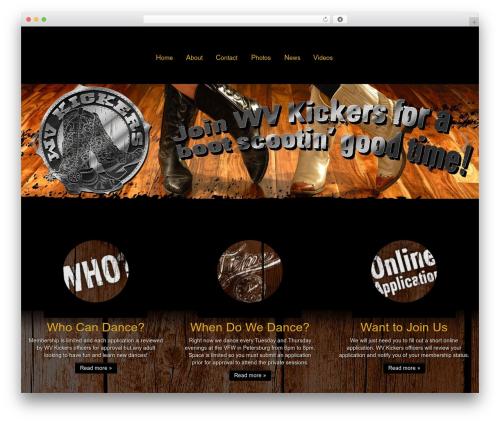 Customizr best free WordPress theme - wvkickers.com