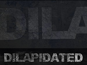 Dilapidated WordPress theme