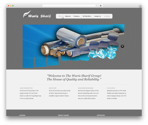 Template WordPress Feather by Elegant Themes