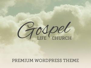 GOSPEL-WP best WordPress template