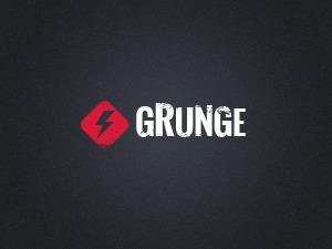 Grunge WordPress blog template