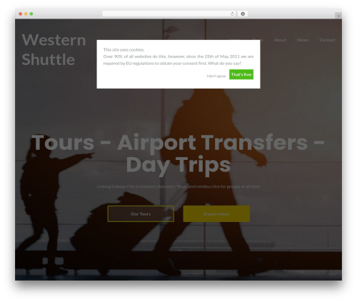 Illdy top WordPress theme - westernshuttle.com