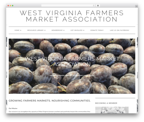 Kale template WordPress free - wvfarmers.org