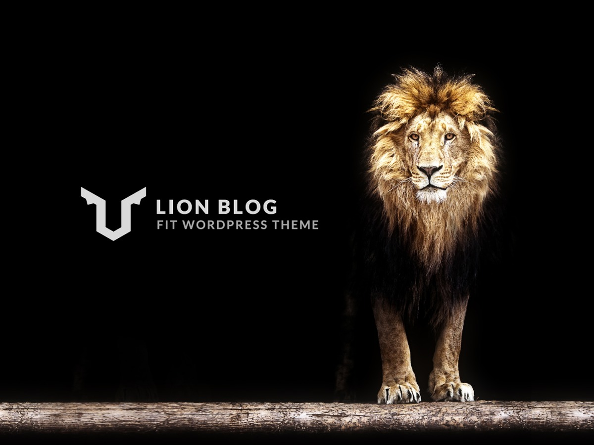 LION BLOG WordPress blog theme