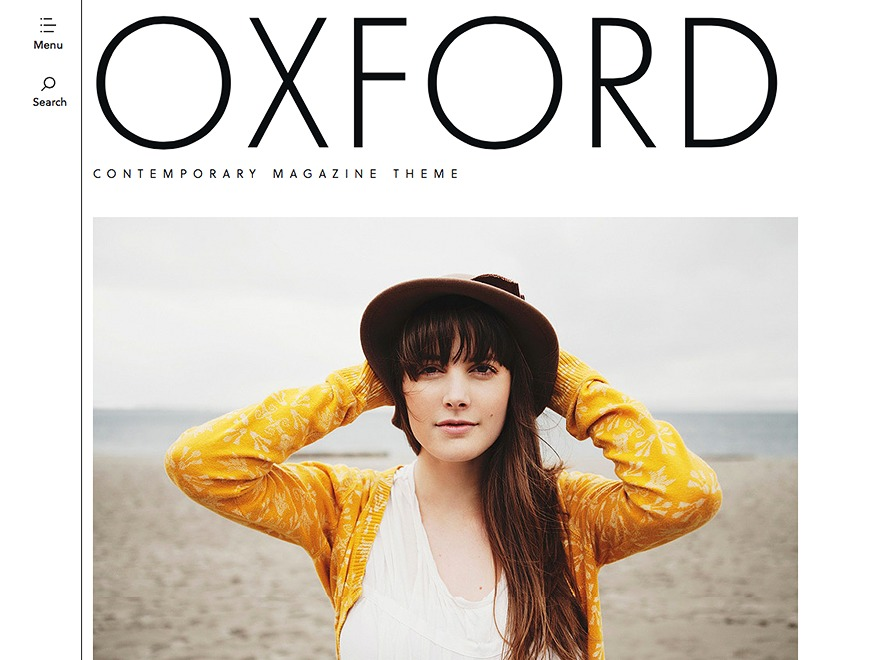 Oxford best WordPress magazine theme