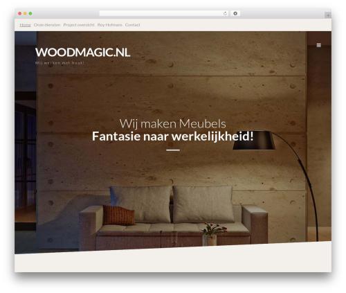 Prima best WordPress theme - woodmagic.nl