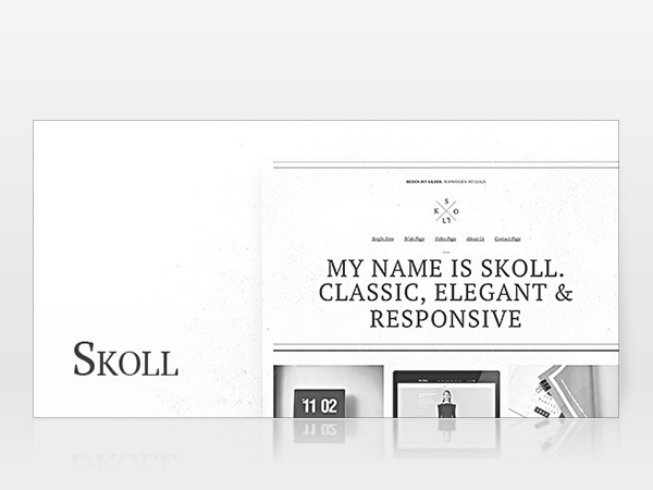 Skoll WP template