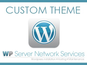 Template WordPress Custom Theme