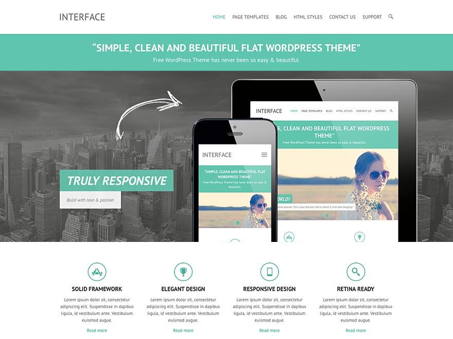 Theme WordPress Interface Child
