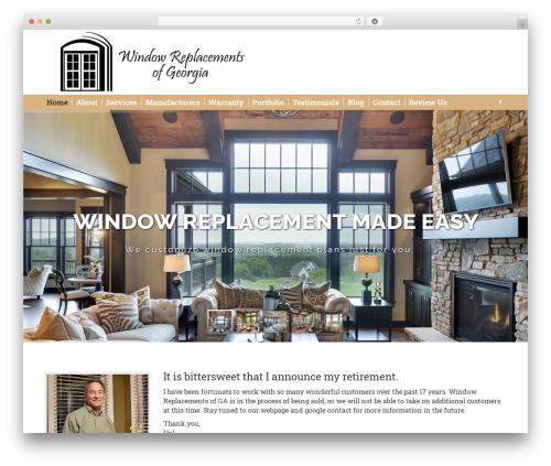 Theme WordPress The7 - windowreplacementsga.com