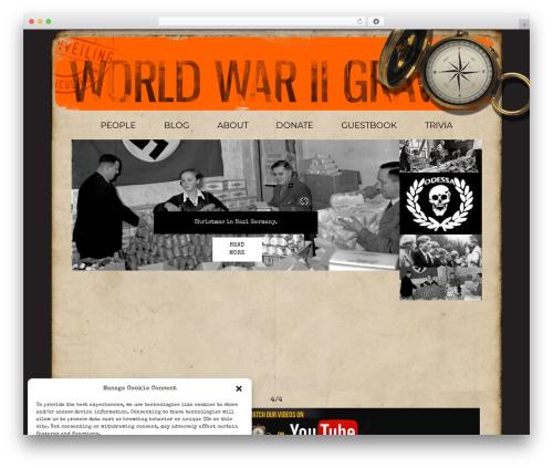 Theme WordPress wp-reponsive-theme - ww2gravestone.com
