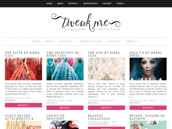 Tweak Me v2 premium WordPress theme