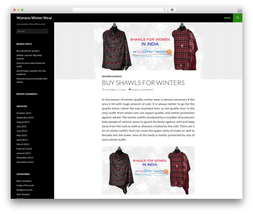 Twenty Fourteen WordPress free download - womenswinterwear.in