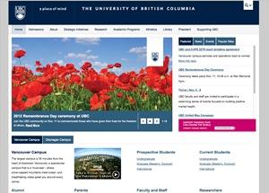 UBC Collab top WordPress theme