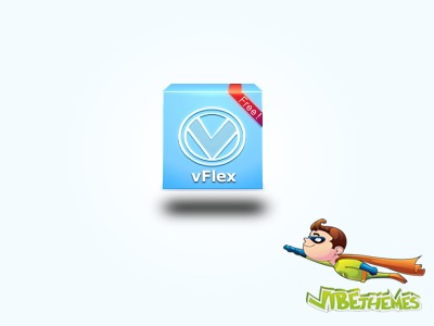 vFlex Responsive theme top WordPress theme