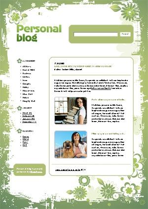 WordPress theme 497 theme WordPress