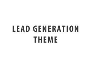 WordPress theme Lead Gen Theme