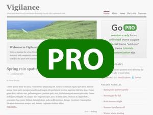 WordPress theme Vigilance PRO Child Theme
