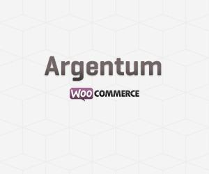 WordPress website template Argentum