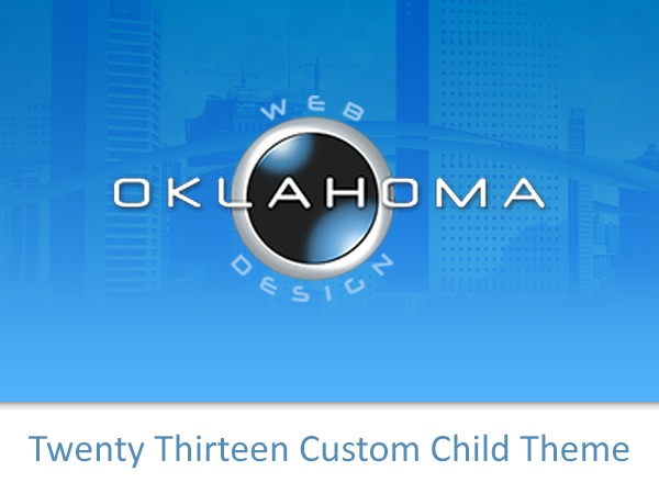 WP template 2013 Child Theme