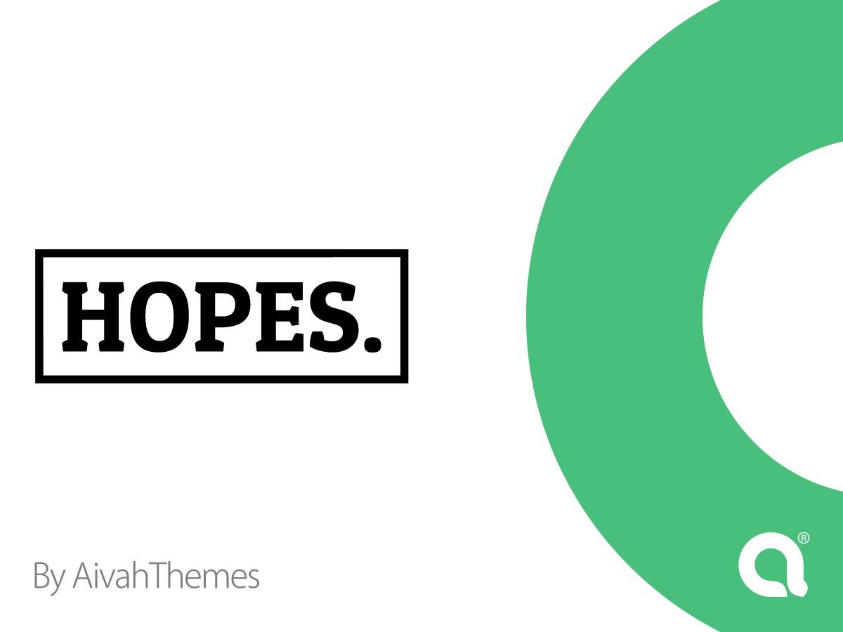 WP template Hopes