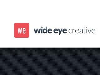 WP template Wide Eye Creative