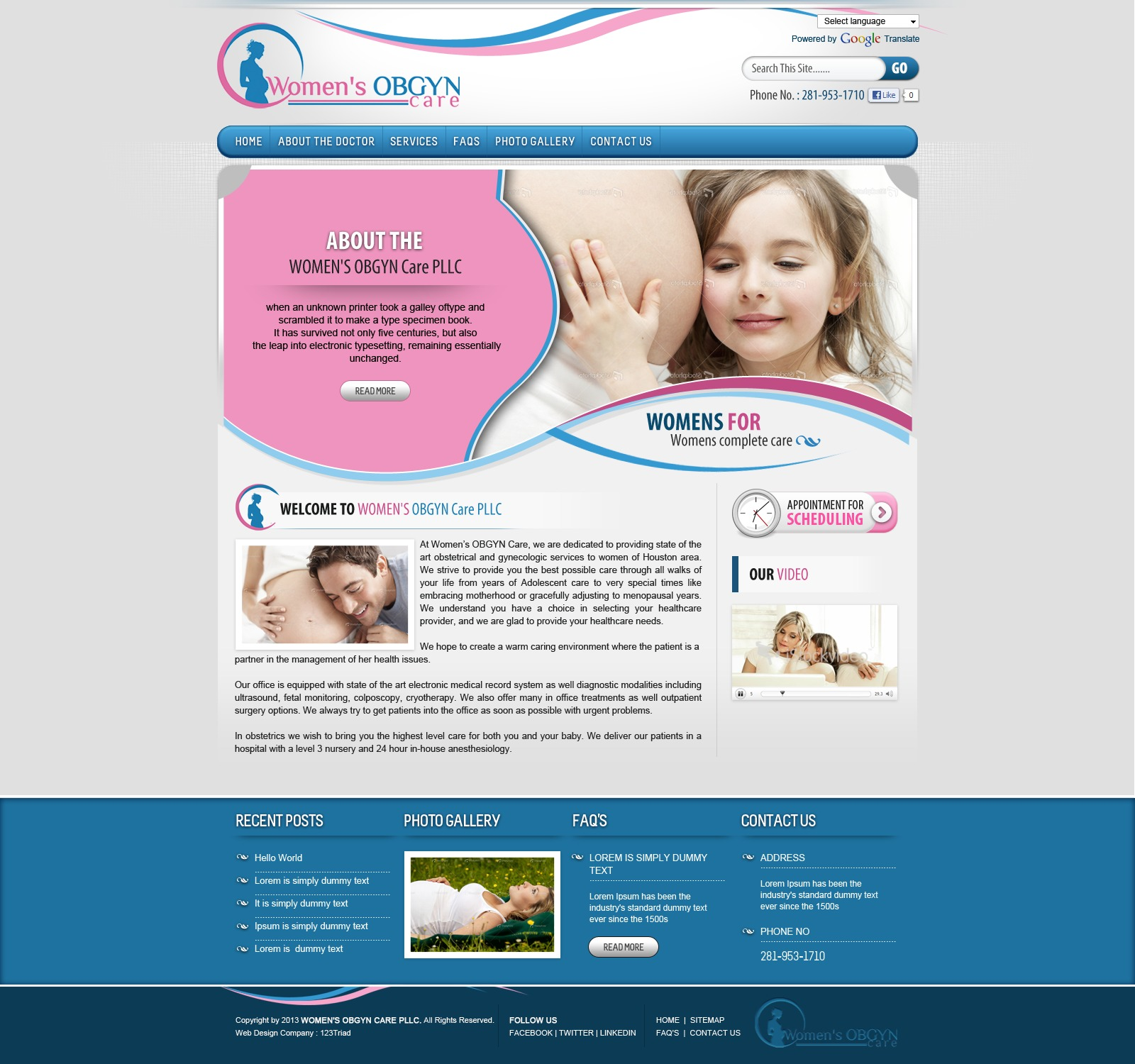 WP template Womens_OBGYN_Care